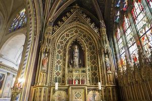 Saint Etienne du mont church, Paris, France photo
