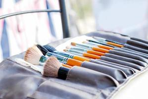 set of brushes photo