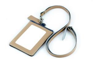 Employee ID Badge Leather