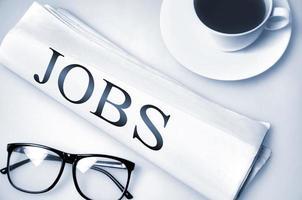 Jobs word photo