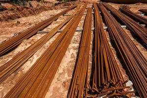 Iron Bars Construction