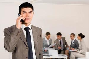 llamada de negocios foto