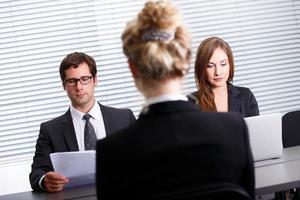 Work interview photo