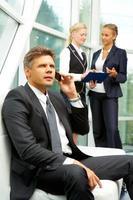 Handsome employer photo