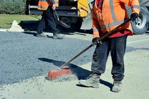 Road workers photo