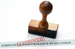 evaluación de desempeño del empleado