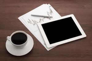 Digital tablet photo