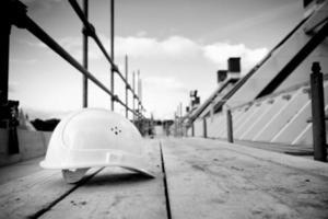 industria de la construcción de crisis de andamios foto