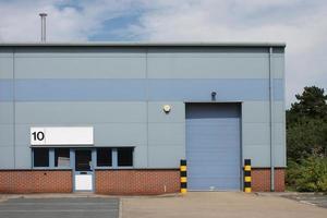 unidad industrial vacante foto
