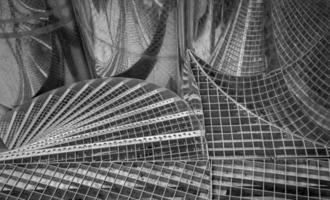 escaleras de metal foto