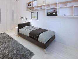 Teenagers bedroom modern style photo