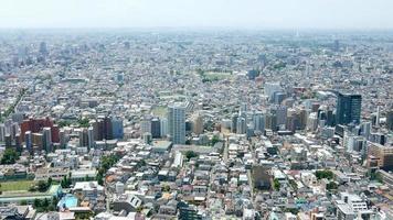 Paisaje urbano en Japón Tokio Shinjuku