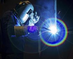 Welding steel structure photo