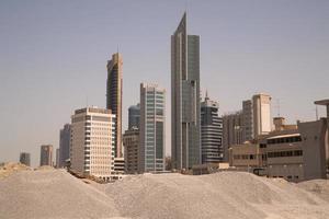 city skyline photo