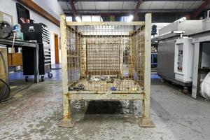 caja de malla de alambre