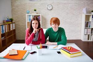 College friends photo