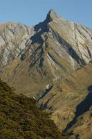 barren slopes in Mount Aspiring National Park