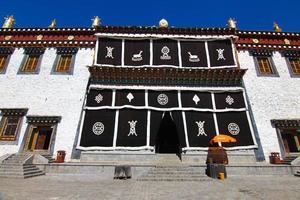 Songzanlin Temple in Zhongdian city( Shangri-La), Yunnan province  China