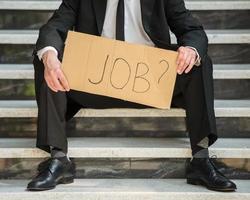 werkloze man