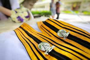Graduate suit.