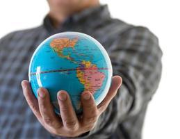 de wereld in mijn handen