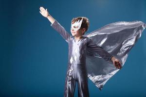 little super hero portrait photo