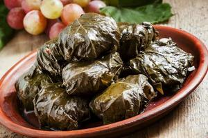 Traditional Armenian dolma (tolma)
