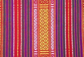 Fondo de tela de seda tailandesa