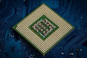 Computer processor photo