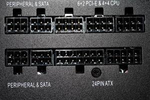Partes de una computadora foto