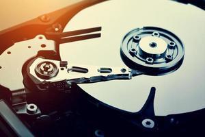 disco duro de la computadora (hdd) foto
