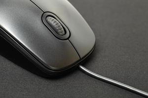 Black Computer Mouse photo