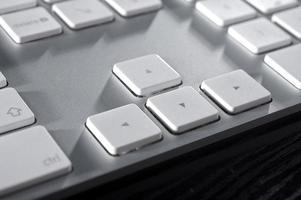 el teclado de aluminio foto