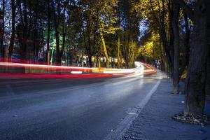 paseo en la noche