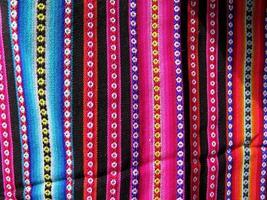 telas tejidas indias de américa del sur