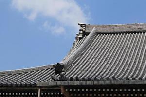 estilo de techo japonés foto