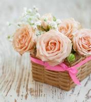 rosas rosa claro