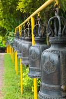 The bell in the temple, Thailand