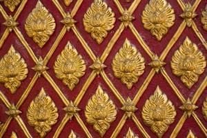 Wall of Wat Phra That Doi Suthep photo
