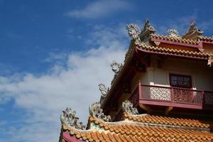 palacio de estilo chino foto
