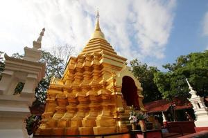 Temples in Chiang Mai Thai country photo