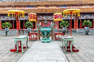 The Forbidden City at Hue, Vietnam photo