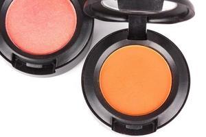 Professional eye shadows in round box