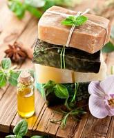 Homemade organic soaps and oil