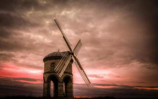 Sunset Over Chesterton Mill photo