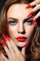 Stiletto nails photo