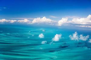 Bahamas aerial photo