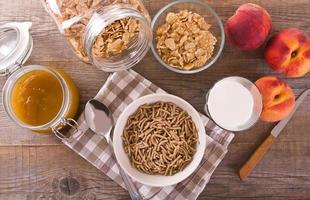 cereales para el desayuno.