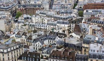 Paris rooftops photo