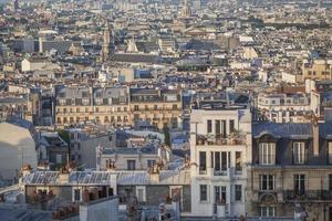 Paris rooftops. photo